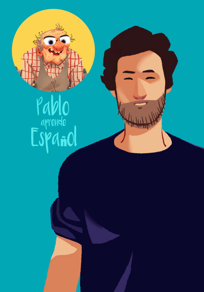 Learning Spanish with pablo aprende español
